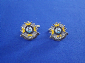BEDFORDSHIRE AND HERTFORDSHIRE REGIMENT CUFF LINK